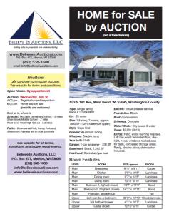 West Bend Property Description